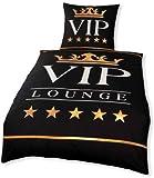 RAHMENLOS VIP Lounge Bettwäsche für den Morgenmuffel, frühen Vogel oder Playboy, original