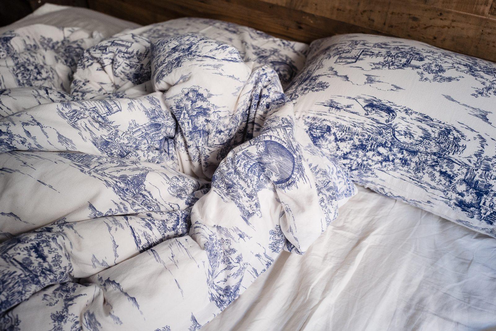 Bettwäsche-Muster